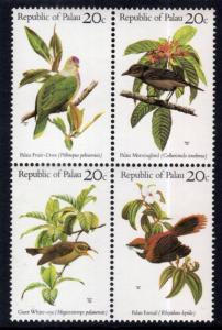 Palau 8a Birds MNH VF
