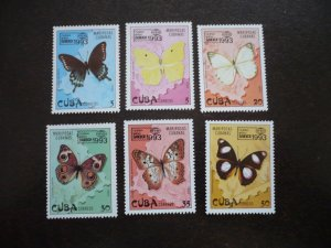 Stamps - Cuba - Scott#3521-3526 - Mint Never Hinged Set of 6 Stamps
