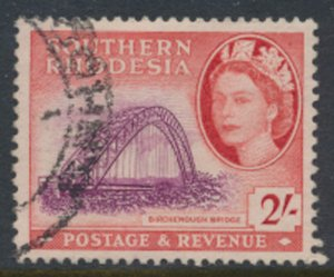 Southern Rhodesia  SG 87  SC# 90  Used  Birchenough Bridge   see scans