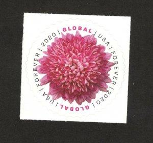 5460 Chrysanthemum Global Forever Single Mint/nh FREE SHIPPING