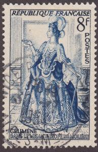 France 689 USED 1953 Celimene from the Misanthrope 8Fr