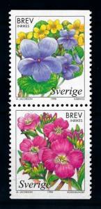 [70012] Sweden 1998 Flora Flowers Blumen  MNH