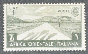 DYNAMITE Stamps: Italian East Africa Scott #12 – MINT