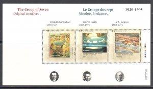 Canada #1559 RARE Bad Shift on a Souvenir sheet - ECV.: $2000.00