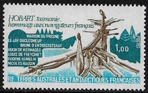F.S.A.T. #81 MNH Stamp - French Navigators Monument