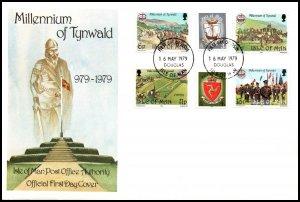 Isle of Man 146-151 U/A FDC