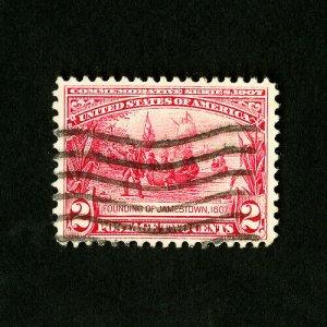 US Stamps # 329 Superb Used