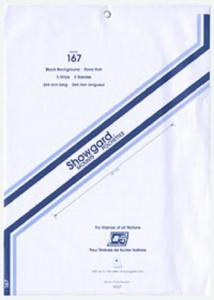 Mounts Showgard 267/167 mm (Pkg 5 Black) (00655B)