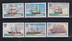 Tuvalu 151-156 Set MNH Ships