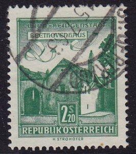 Austria - 1962 - Scott #697 - used - ST. GERTRAUD pmk