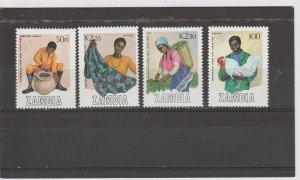 Zambia  Scott#  444-447  MH  (1988 Preferential Trade Area Fair)