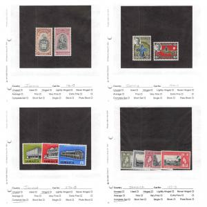 Lot of 77 Jamaica MH Mint Hinged Stamps Scott Range 146-678 #142841 R