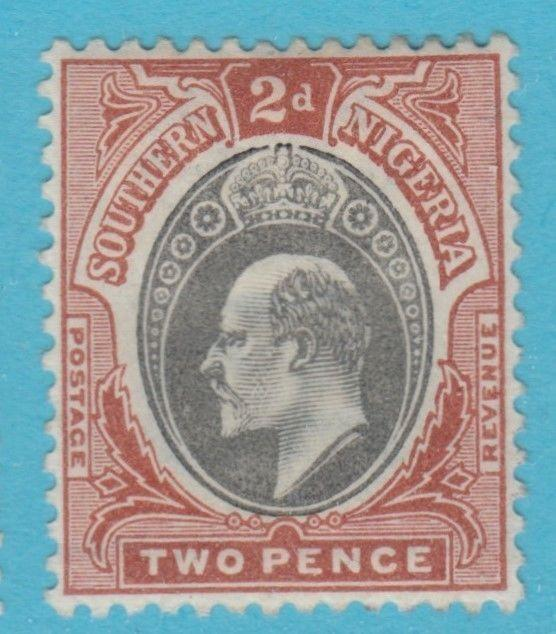 SOUTHERN NIGERIA 12   MINT  HINGED OG *   NO FAULTS EXTRA FINE  !