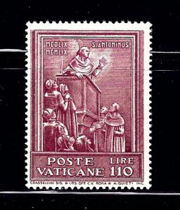 Vatican 272 MH 1960 issue