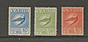 Brazil Varig Airmail GENUINE MNH Gum Stamp 6-14c-20 (notice sharper detail)