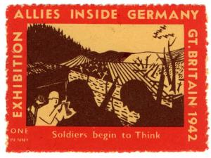 (I.B) Cinderella Collection: Allies Inside Germany Exhibition 1d (1942)