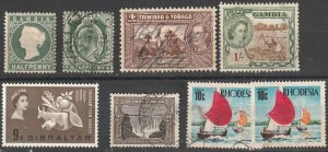 British Colonies Used lot #191103-2