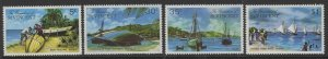 GRENADINES OF ST.VINCENT SG30/3 1974 BEQUIA ISLAND MNH