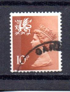 Great Britain - Wales WMMH13 used