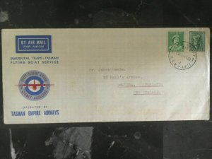 1940 Australia First Flight Cover to New Zealand Trans Tasman Empire Airways FFC