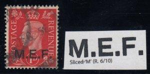 BOIC MEF, SG M1a, used Sliced M variety