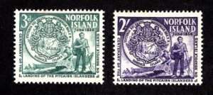 NORFOLK ISLAND  SC# 19-20  FVF/MLH