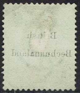 BECHUANALAND 1885 OVERPRINTED CAPE HOPE 1/- USED