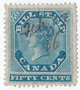 (I.B) Canada Revenue : Bill Stamp 50c