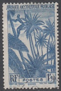 French West Africa 44 Used CV $1.10
