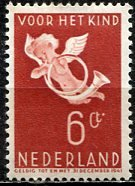 Netherlands; 1936: Sc. # B92: */MH Single. Stamp