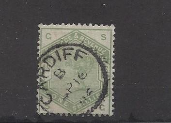 Great Britain, 107, Queen Victoria  Single, Used