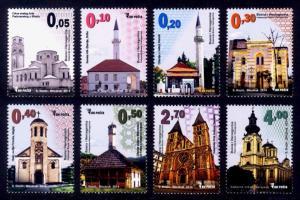 Bosnia & Herzegovina Sc#715-22 MNH Houses of Worship