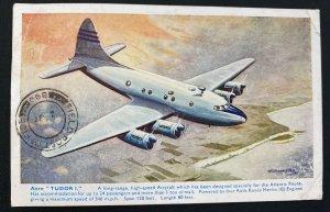 1947 Kensington England Picture Postcard Cover To BAOR Hamburg Germnay