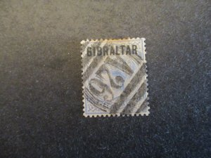 Gibraltar #4 Used - I Combine Shipping (1AA1)