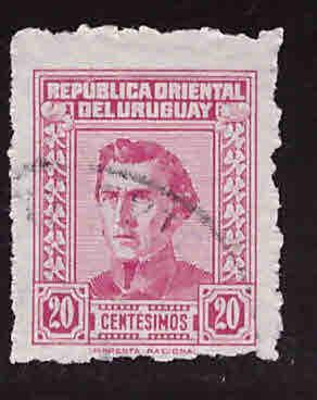 Uruguay Scott 577 Used stamp