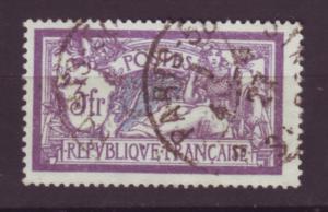 J20115 jlstamps 1900-29 france used #128 liberty