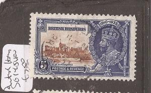 British Honduras Silver Jubilee SG 145 VFU (1dch)