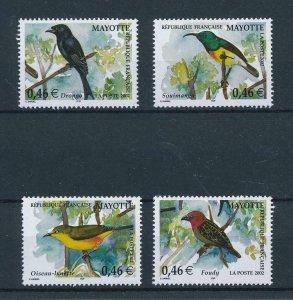 [102580] Mayotte 2002 Birds vögel oiseaux  MNH