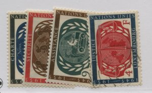 LUXEMBOURG  306-09  MNH   08 USED