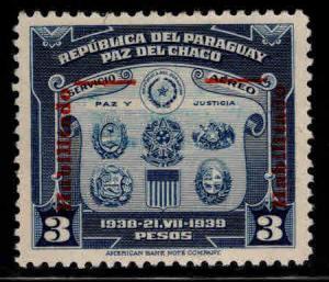Paraguay Scott 389 stamp 1942 MH*