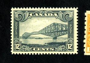 CANADA #156 MINT VF-XF OG NH Cat $85