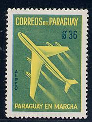 Paraguay Scott # C281, mint
