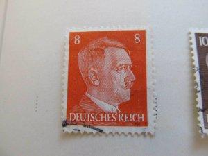 A8P54F149 Deutsches Reich Allemagne Germany 1941-44 8pf fine used stamp