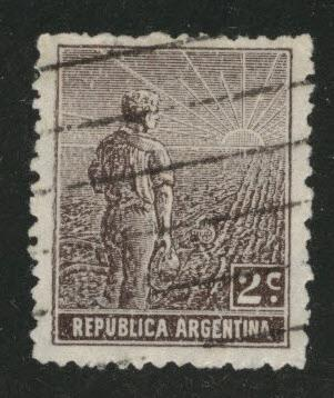Argentina Scott 191 Used stamp