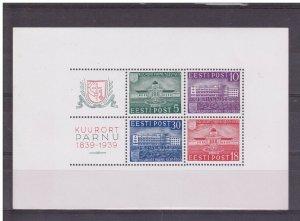 Estonia 1939, S/S Parnu, Scott # 144-147a, VF MNH** (DADU-1)
