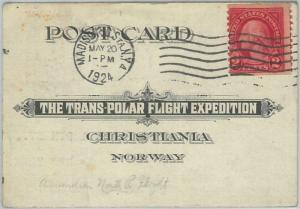 74151 - USA / NORWAY - STATIONERY CARD: Transpolar Flight Expedition 1924