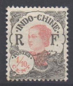 Indo-China SG115, 1922 Ammanite 1/10c MH*
