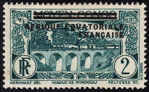 French Equatorial Africa - Scott 12 - Mint-Hinged - Thins