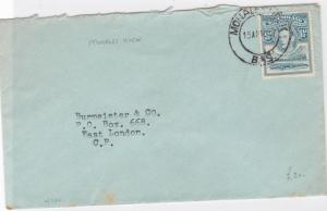 basutoland mohales hoek  stamps cover ref 12947