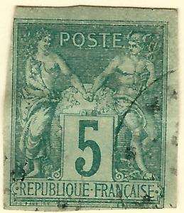 French Colonies (Scott #31) F-VF Used hr...Buy before prices go up again!